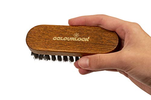COLOURLOCK Leather & Textile Cleaning Brush for car interiors, alcantara car seats and leather furniture upholstery by COLOURLOCK