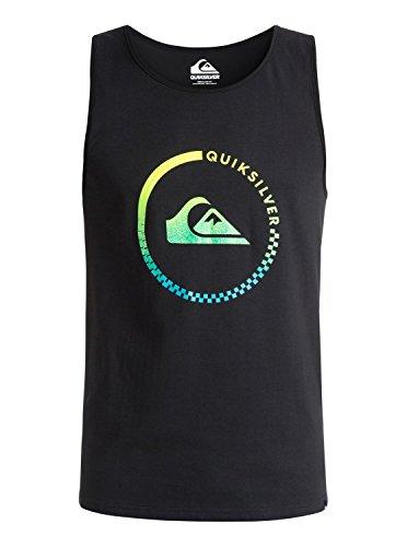 Quiksilver Classtkeveract M Tees KVJ0 - Camiseta para Hombre, Color Negro, Talla L