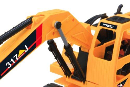 RC Baufahrzeug kaufen Baufahrzeug Bild 1: Jamara 403790 - RC Bagger 317J 1:24 3 Kanal inklusive Fernsteuerung*