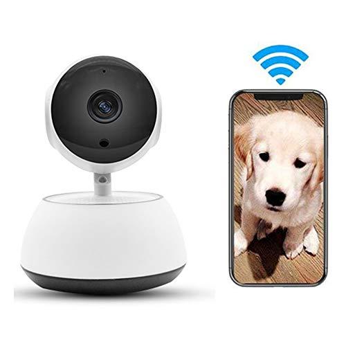 LEEFISH W-LAN Haustier, Kabellos Überwachungskamera, 720P Hd Hundemonitor, Für Baby/Hund/Katze Mit Bewegungserkennung Nachtsicht Zweiwege-Audio