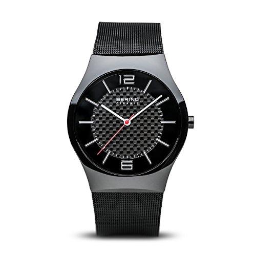 BERING Herren-Armbanduhr Analog Quarz Edelstahl 32039-449