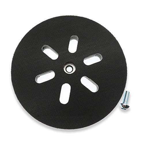 Poweka - Disco abrasivo de 150 mm para Bosch GEX 150, GEX 150 AC, GEX 150 Turbo Lijadora Dureza