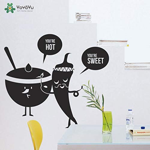 zqyjhkou Creative Shisha PVC Wall Decals Home Decor for Kids Rooms Decoration Wall Art 42x47cm