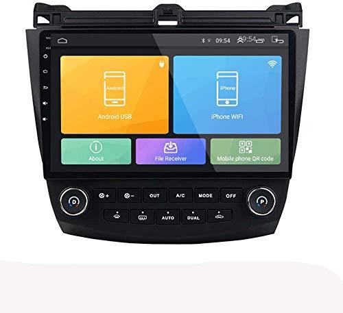 LINGJIE Für Honda Accord 7 2003-2007 Android 8.1 GPS-Navigation mit Navi unterstützt GPS WiFi USB Carplay SWC TMPs mit Bluetooth-Freisprecheinrichtung,1+16g