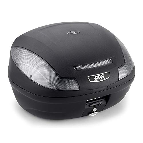 Givi E470NT Simply III Tech Monolock Baúl con Placa y Cover Negro...