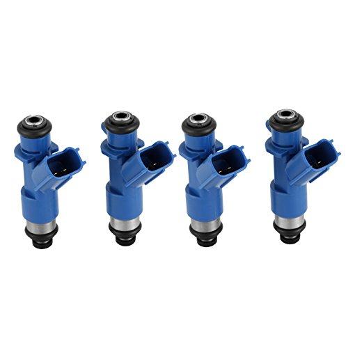 Mophorn Flow Matched Fuel Injectors 410cc 16450-RWC-A01 Fit for Honda Civic Integra RSX K20 K24 Acura RDX(Set Of 4)