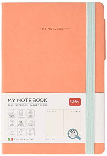 Legami MY NOTEBOOK - MEDIUM PLAIN SALMON