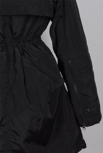 『ファッションコート 大きいアライグマの毛皮の襟』の4枚目の画像
