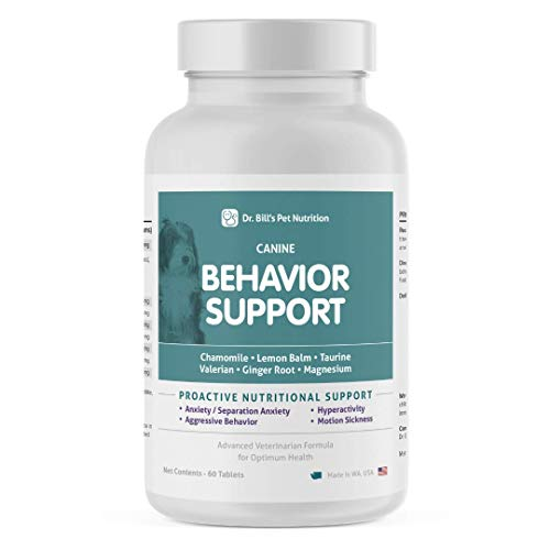 Dr. Bill's Canine Behavior Support | Pet Supplement | Calming Supplement...