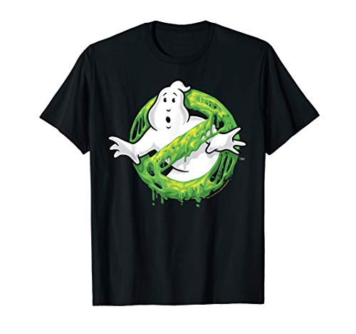 Ghostbusters Dripping Slime Logo T-shirt for Adults or Kids