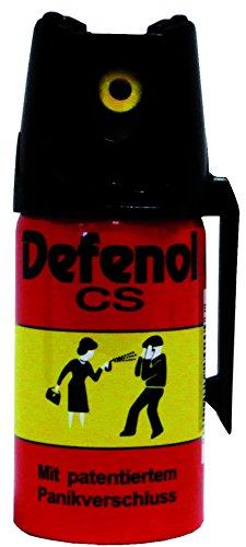 Ballistol Unisex Defenol CS Verteidigungssprays, Mehrfarbig, 40 ml