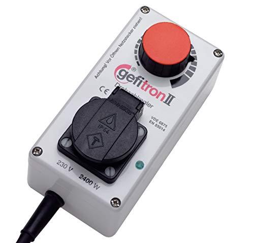 Elektronischer Drehzahlregler - 230V bis 2400 Watt | Drehzahl von Kreissägen und anderem Werkzeug stufenlos einstellen - Hergestellt in Deutschland