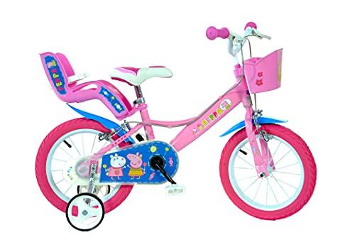 Dino Bikes 144R-PIG Peppa Pig Buscando a Dory Bicycle, Bicic