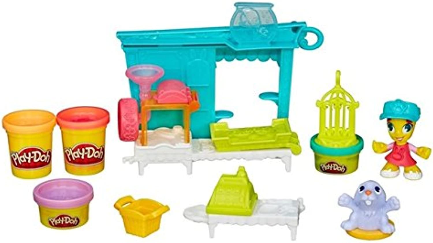 Play-Doh Stadt Firehouse Spielset