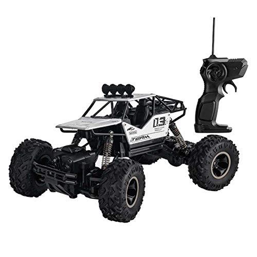 SM SunniMix Juguete Teledirigido Automático del Vehículo Teledirigido del Camión de La Escala del 1:16, Regalo para Los Niños - Plata