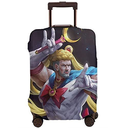 Anime Girl Sailor Moon - Funda protectora para equipaje de viaje con cremallera lavable