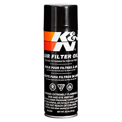 K&N 99-0506EU KFZ und Motorrad Air Filter Oil - 7.18 fl oz/204 ml Aerosol - Non-US