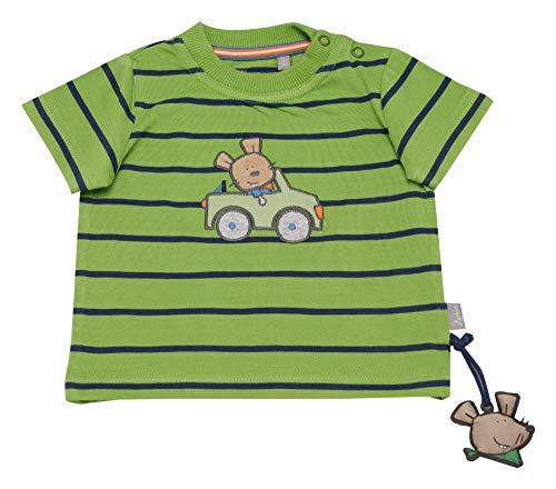 Sigikid Sigikid Baby-Jungen T-Shirt, Grün (Cactus 315), (Herstellergröße: 62)