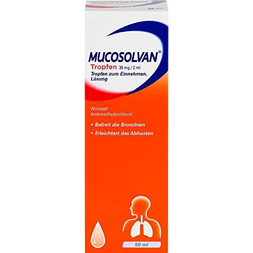 Mucosolvan Tropfen, 50 ml Lösung