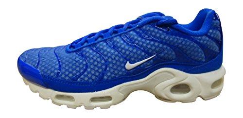 Nike Herren AIR MAX Plus TXT Turnschuhe, Azul (Azul (Racer Blue/White), 40 EU