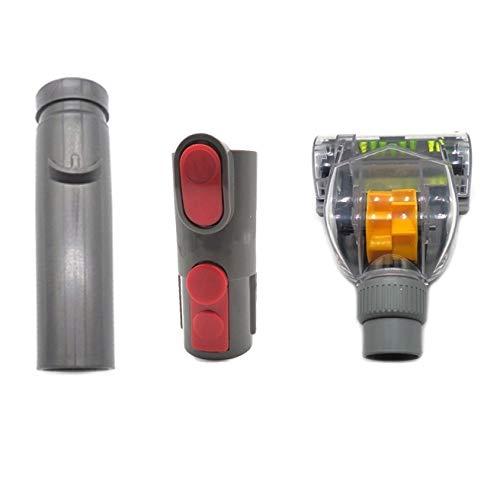 Accesorios de aspiración 3 en 1 Herramienta DE Pantalla Personas ANTIPORTE Kits DE LA Cabeza DE SUCCIÓN, para Dyson V6 / V7 / V8 / V10 Aspirador, Accesorios de Accesorios de Accesorios de reemplazo