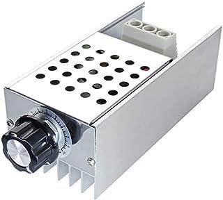 ZHITING AC 110V 120V 220V 230V 10000W High Performance SCR Motor Toerentalregelaar Spanningsregelaar Diminstelling Thermis...