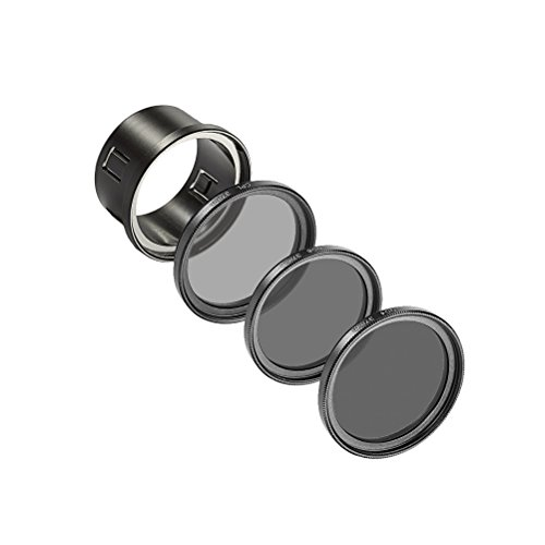 ToyMYTOY - Kit de 4 filtros UV CPL ND4 ND8 con capucha de lente para DJI Phantom 3