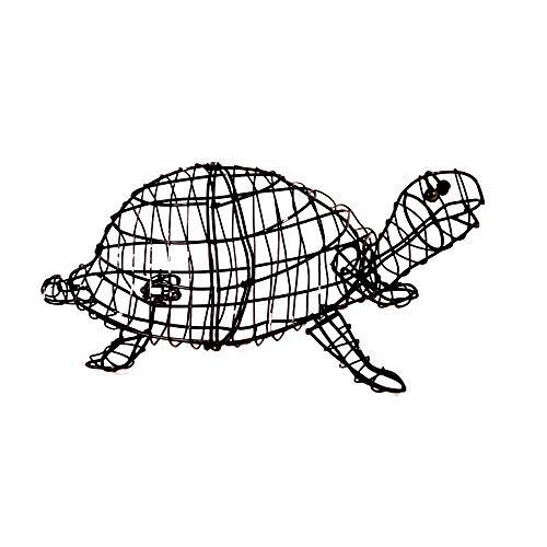 Gartenfigur Schildkröte 30 cm für Buxus Moos Efeu