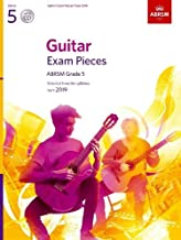 Guitar Exam Pieces from 2019, ABRSM Grade 5, with CD: Selected from the syllabus starting 2019 (ABRSM Exam Pieces)