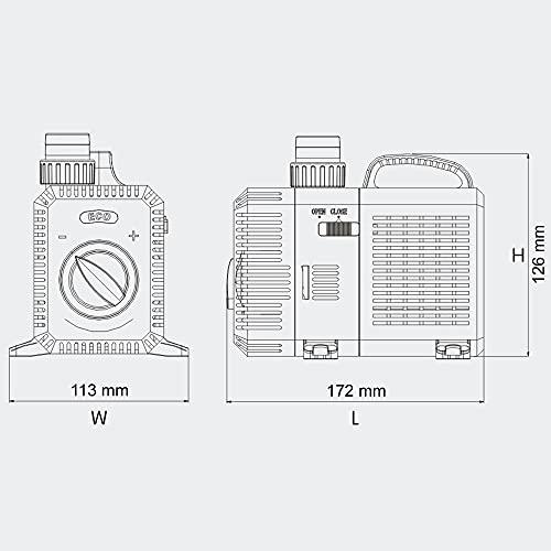 SunSun CTP-2800 SuperECO Teichpumpe Filterpumpe 3000l/h 10W - 4