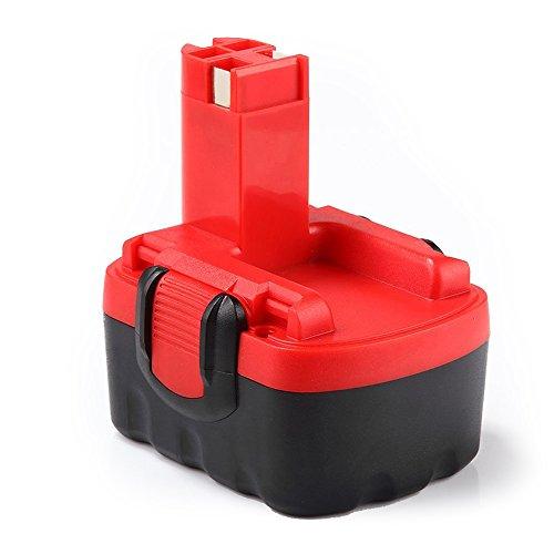 Dosctt Reemplazo para Bosch Batería 14,4V 3000mAh Ni-MH BAT038 BAT040 BAT041 BAT140 BAT159 2607335685 2607335533 2607335534 2607335711