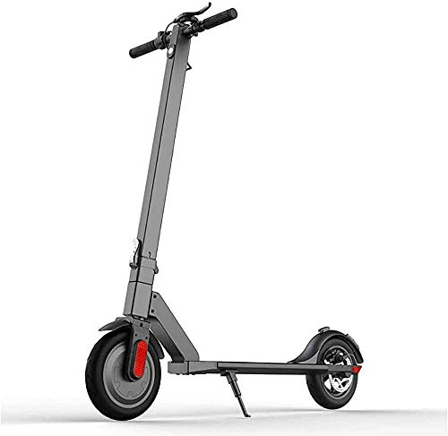 Portable Electric Scooter Adult Portable Foldable 200W LCD Display, 10-inch Shock-absorbing Off-road Tire Long-distance Electric Light 24 Km/H 29.4V / 5.0Ah Lithium Ion Ba LATT LIV