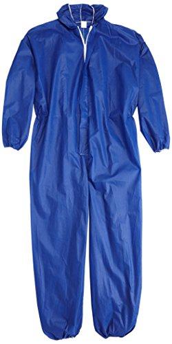 Kerbl 3433 PP Einweg Overall, Größe XL, blau