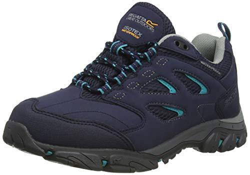 Regatta Chaussures Techniques de Marche Basses Holcombe, Walking Shoe Femme - Bleu (Navy Atlantic) - 38 EU
