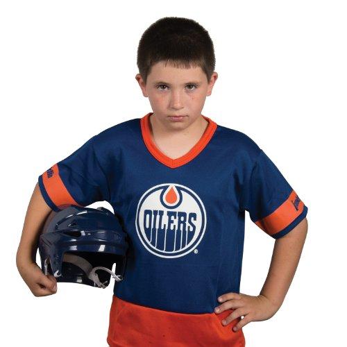 Franklin Sports NHL Edmonton Oilers Youth Team Set