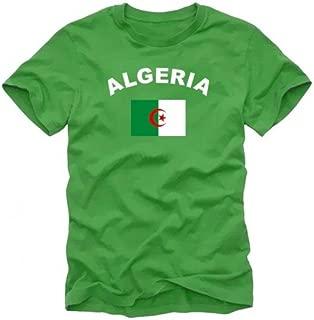 Algerien Fussball Fanshirt Fan Shirt Tshirt Fanartikel Artikel Frauen Damen T-Shirts