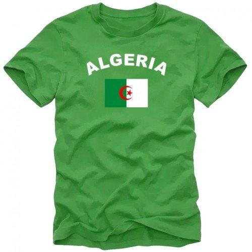 ALGERIEN - ALGERIA Fußball T-Shirt green Gr.XXL