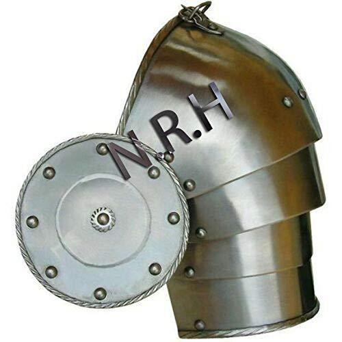 Nautical Replica Hub Medieval Warrior Pauldron Shoulder Armor 18g Steel