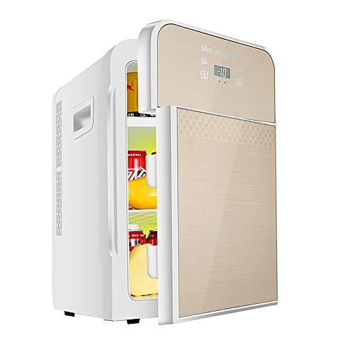 Car refrigerator-TOYM 22L Mini Frigo Auto Frigorifero Dual-Core Display Digitale Termostato Ultra Silenzioso A Basso Rumore Auto Casa Doppio Uso Doppia Porta Frigo Riscaldamento Box Frigo