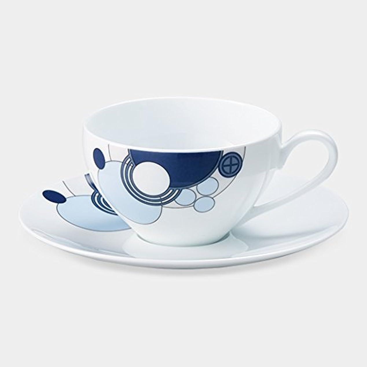 道路展望台十分ですノリタケ(Noritake) カップ_ソーサー マルチ 容量:約220ml Noritake インペリアルブルー ティー?コーヒー碗皿 WT94989/1701