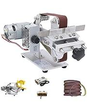 Huanyu Bandschuurmachine mini schuurmachine elektrische bandschuurmachine DIY schuurgereedschap voor messen hout met 895/997 motor