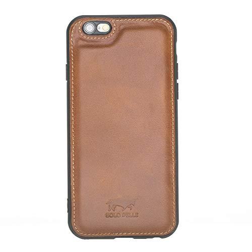 Solo Pelle iPhone 6 / 6S Hülle Lederhülle Ledertasche Backcover
