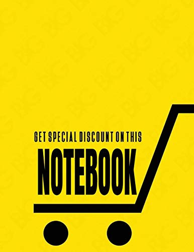 Notebook: special discount cover (8.5 x 11)  inches 110 pages, Blank Unlined Paper for Sketching, Drawing , Whiting , Journaling & Doodling (special discount notebook,, Band 33)