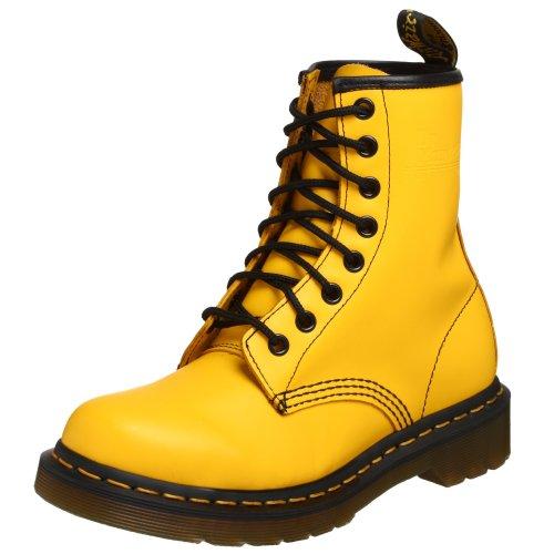 Dr. Martens 1460 Smooth Unisex Boots Yellow 24614700, Numero di Scarpe:44 EU