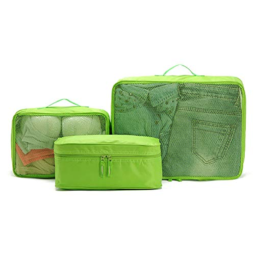 ROGF Travel Storage Bag 3-Piece Packing Cube Set Small Medium Large For travel