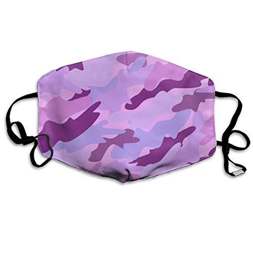 Camouflage Pink Vector Image Stofdicht wasmasker - herbruikbaar masker - mondmaskers