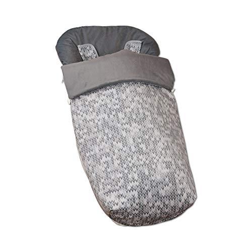 Babyline Game - Saco de silla con manoplas, unisex, color gris