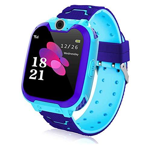 Kinder Smartwatch,7 Spiele Musik Kids Smart Watch,Smart Watch Phone mit SOS, 1,44 Zoll LCD-Touchscreen-Uhr mit Digitalkamera,Smartwatch für Jungen und Mädchen