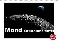 Mond Orbitalansichten (Wandkalender 2022 DIN A3 quer): Orbitalansichten des Mondes und seiner Krater (Geburtstagskalender, 14 Seiten )