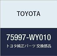 TOYOTA (トヨタ) 純正部品 リヤボデー ストライプ LH ハリアー/HYBRID 品番75997-WY010